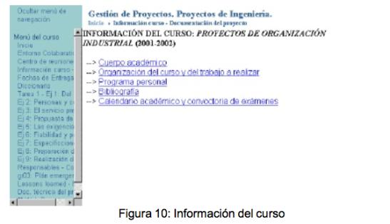 Figura 10: Información del curso - (c)  Christian A. Estay-Niculcar